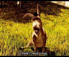 Need a hug_shrek:donkey